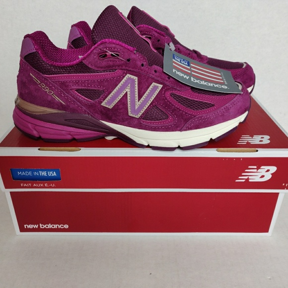 differently 52b3d 1f22b New Balance 990 Made in USA Mulberry Purple NWT